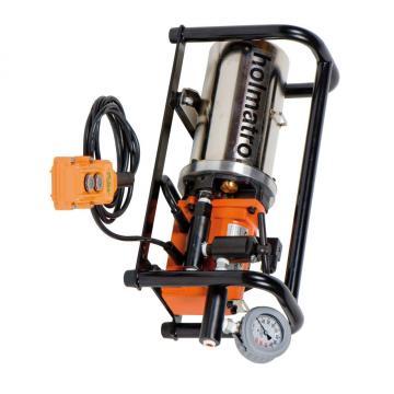 7L Pompe Hydraulique Puissance Haute Pression Pompe à Huile Electrique 750W 220V